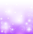 Abstract purple background with stars vector image