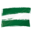 Grunge Andalusia flag vector image