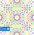 Abstract Dots Seamless background vector image