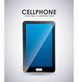 cellphone icon vector image