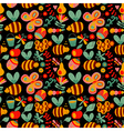 seamless floral pattern Summer composition with vector image