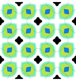 Seamless pattern with bold geometric shapes vector image