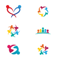 community care Logo vector image