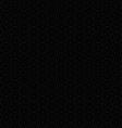 Black abstract seamless circle pattern vector image