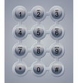 keypad vector image vector image