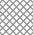 chrome metal grid diagonal seamless background vector image