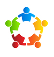 People strong 5 - design element vector image