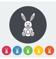 Rabbit toy vector image