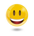 smiley emoticons emoji vector image