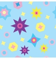 seamless texture with the stars vector image