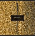 halftone vintage golden texture vector image