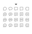 messages ui pixel perfect well-crafted thin vector image