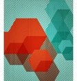 Book cover background design Retro style vector image vector image