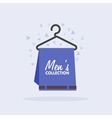 Sales of mens clothing collection vector image