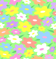 Texture of flowers vector image
