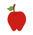 apple fruit sweet vector image