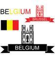 Belgium vector image