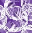 Geometric pastel stripy seamless pattern tattered vector image vector image