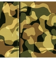 Camouflage khaki texture vector image
