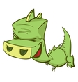 Of Ccute Cartoon Baby Dragon vector image