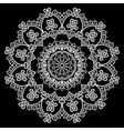 lace round 13 380 vector image