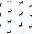seamless pattern with flying deers wallpapers vector image