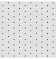 Dot lace seamless pattern net vector image