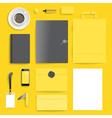 Corporate identity template vector image