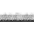 Riepu nospiedums MG 2225 vector image vector image