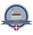 Tallinn vector image