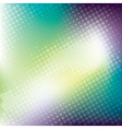 abstract colorful halftone banner background vector image