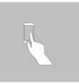 Use phone computer symbol vector image