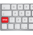 media icon keyboard vector image vector image