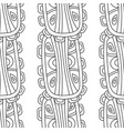 black and white for coloring book vector image