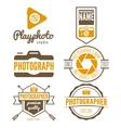 Set of logo and design elements for studio or vector image