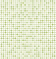 Green abstract mosaic background vector image vector image