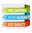 freight tags vector image vector image