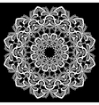 lace round 14 380 vector image