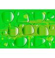 Glass drops vector image