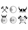 Viking Set vector image