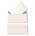 two envelopes vector image vector image