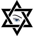 Logo for psychic or fortune teller vector image
