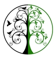 Tree of Life and Death vector image vector image