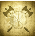 Viking Grunge Background vector image