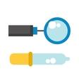 Medic tools vector image