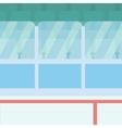 Background of ice hockey stadium vector image