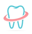 Dentist tooth logo design template Dental clinic vector image