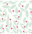 leaves seamless background for your design vector image