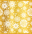 gold white abstract doodle stars seamless vector image vector image