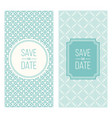 retro invitation templates patterned background vector image
